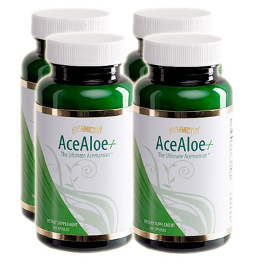 acealoe plus case 4 bottles special deal price four pack