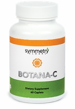 Botana-C by Symmetry vitamin C natural formula NP126