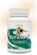 Botana-E by Symmetry natural herbal vitamin E formula with support cofactors