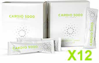 Cardio 5000 pixie packets sugarless 12 pack
