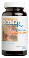 ColdRx by Symmetry cold, flu, natural herbal formula sore throat TS603